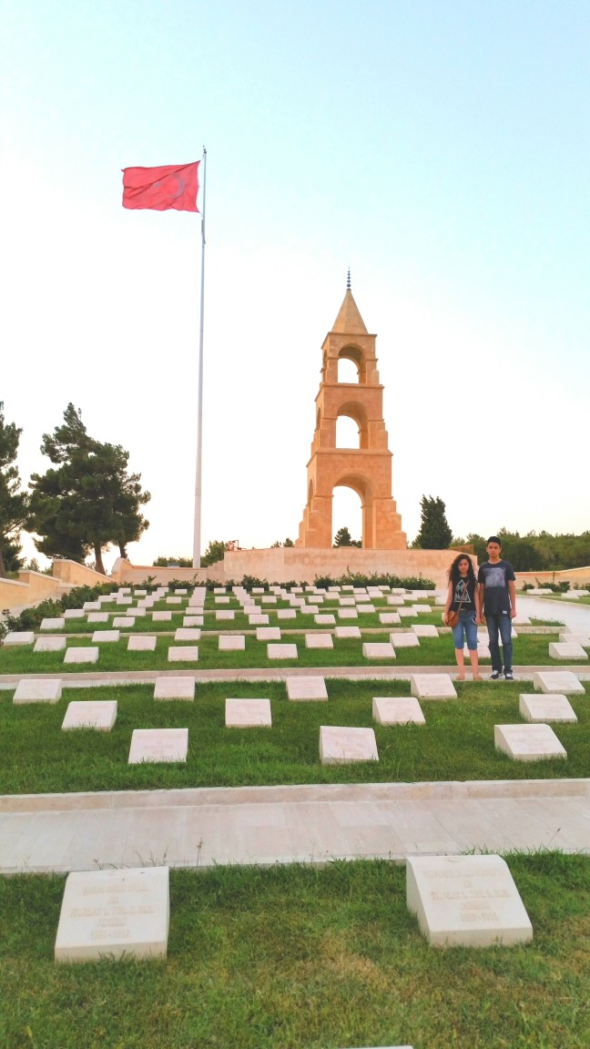 Over 60,000 Turkish soldiers laid their life in the 9 month bloody battle. One of the many cemeteries for Turkish war martyrs.